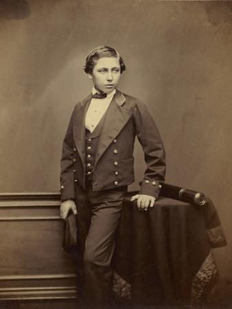The Prince of Wales, later Edward VIII, c.1856