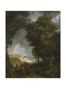 Caught in a Storm, St. Margaret's Bay by John James Chalon
