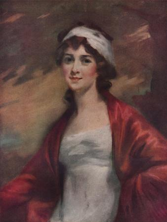'Miss Mary Macintyre', 1803, (1922)