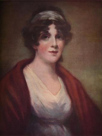 'Portrait of Miss Mary Reynolds (Mrs. Houlthurst)', 1809, (1922)