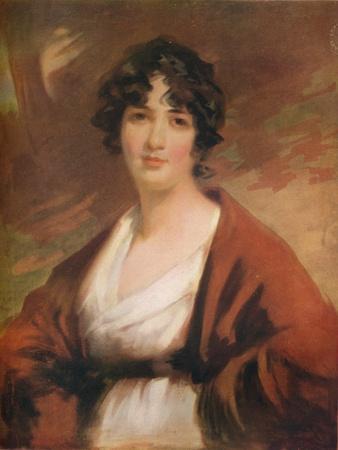 Portrait of Mrs. Kenyon, 1807, (1919)