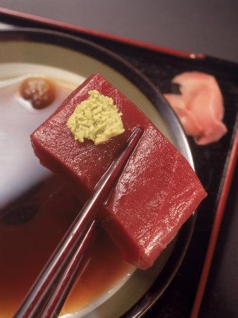 Sashimi, a Type of Sushi