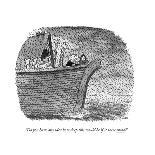 Shows first Thanksgiving where the pilgrims and the Indians are starting a? - New Yorker Cartoon-John Jonik-Premium Giclee Print