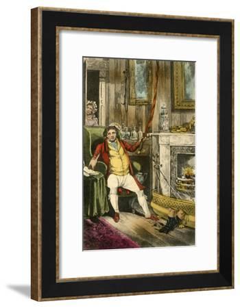 'John Jorrocks, Esq., M.S.H., etc., etc., etc., etc. A Citizen of Credit of Renown', 1838-Henry Thomas Alken-Framed Giclee Print