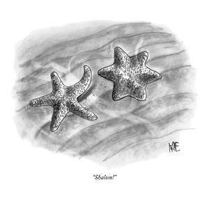 """Shalom!"" - New Yorker Cartoon by John Kane"