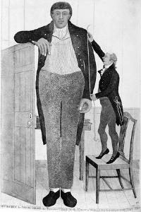 Mr O'Brien, the Irish Giant, the Tallest Man in the known World, 1803 by John Kay