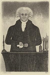 Portrait of Henry Moyes by John Kay