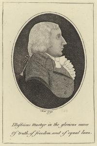 Portrait of Thomas Muir by John Kay