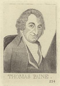 Portrait of Thomas Paine by John Kay