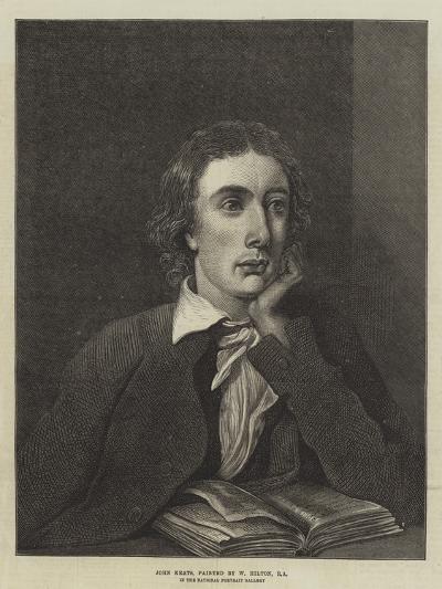 John Keats, in the National Portrait Gallery--Giclee Print