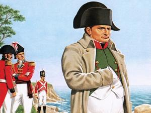 Napoleon Gazing Out at the Ocean from St Helena by John Keay