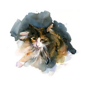 Calico Cat, 2015 by John Keeling
