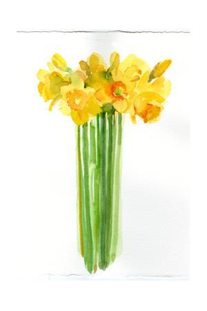 Narcissus Bunch; 2014; by John Keeling