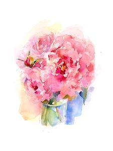 Peony Bouquet, 2016 by John Keeling