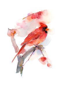 Red Cardinal, 2016 by John Keeling