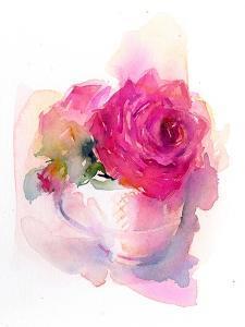 Rose in Teacup, 2017 by John Keeling
