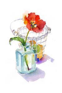 Tulip with Egg Basket, 2014 by John Keeling