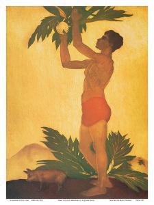 Breadfruit Boy - Hawaii by John Kelly