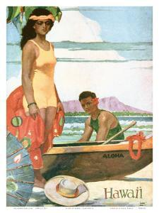 The Story Of Hawaii, Tourist Bureau Booklet 1929 Edition by John Kelly