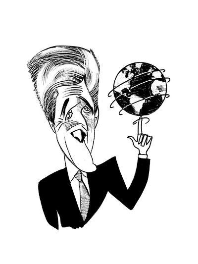 John Kerry Earth Day - Cartoon-Tom Bachtell-Premium Giclee Print