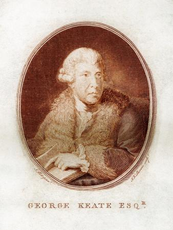 George Keate, Author, Painter and Friend of Voltaire, 1781
