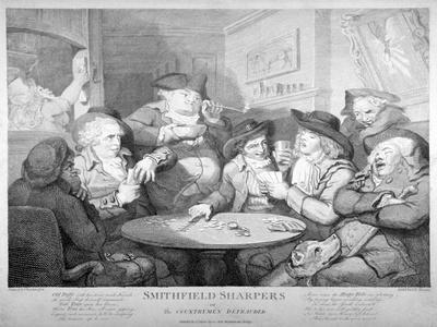 Smithfield Sharpers, or the Countrymen Defrauded, C1787