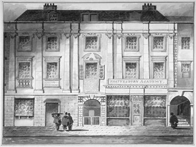 Shaftesbury House, Aldersgate Street, City of London, 1800