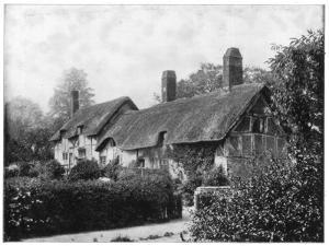 Anne Hathaway's Cottage, Stratford-On-Avon, England, Late 19th Century by John L Stoddard
