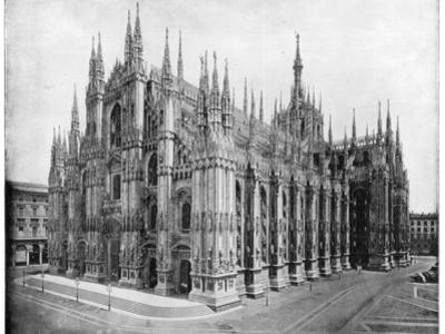 Milan Cathedral, Italy, Late 19th Century by John L Stoddard
