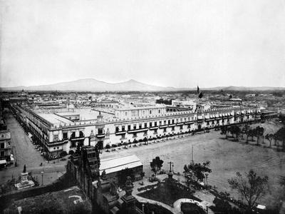 Panorama of the City of Mexico, 1893