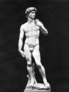Statue of David, Florence, Italy, 1893 by John L Stoddard
