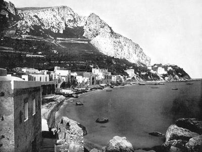 The Marina, Capri, Italy, 1893