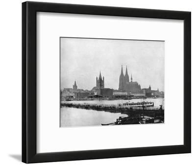 The Rhine at Cologne, Germany, 1893