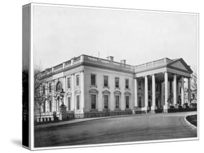 The White House, Washington Dc, Late 19th Century