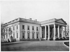 The White House, Washington Dc, Late 19th Century by John L Stoddard