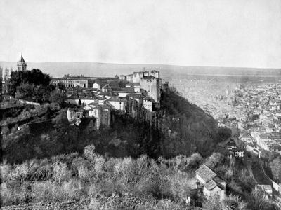 View of the Alhambra, Granada, Spain, 1893