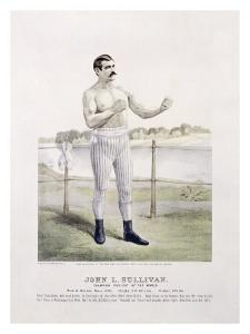 John L. Sullivan, Irish Boxer