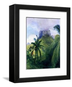 The Peak of Maua Roa, Moorea, Society Islands, 1891 by John La Farge