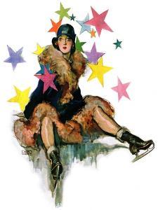 """""""A Fall from Skates,""""January 11, 1930 by John LaGatta"""