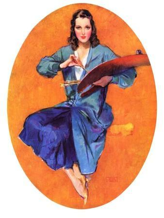 """""""Artist and Her Palette,""""September 9, 1933"""