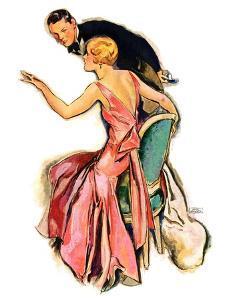 """Engaged Couple,""May 17, 1930 by John LaGatta"