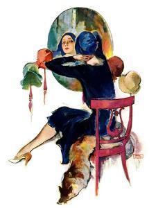 """Hat Shop,""November 30, 1929 by John LaGatta"