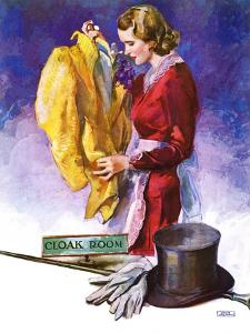 """Hatcheck Girl,""July 17, 1937 by John LaGatta"