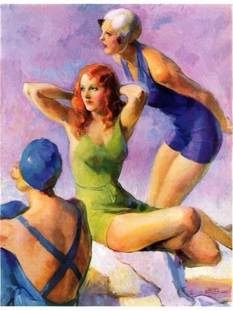 """Three Bathing Beauties,""July 8, 1933"