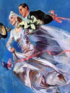 """Wedding Day,""June 24, 1939 by John LaGatta"