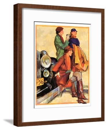 """Women in Riding Habits,""January 6, 1934"