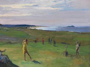 The Golf Course, North Berwick by John Lavery