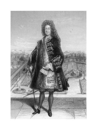 John Law, Comptroller General of France, 1720--Giclee Print