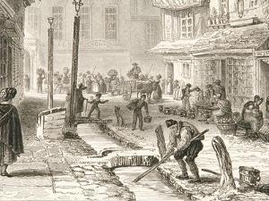 Minster Street in 1829 by John Le Keux