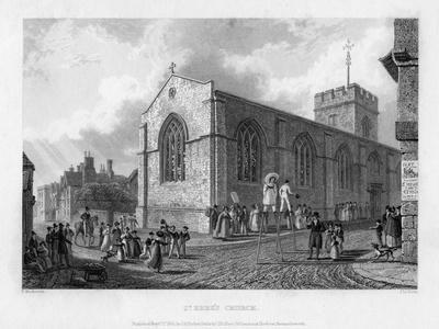 St Ebbe's Church, Oxford, 1835